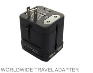 Travel adapter for all acountries