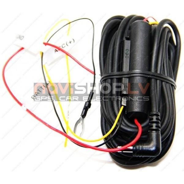 Blackvue 3 dzīslu barošanas kabelis