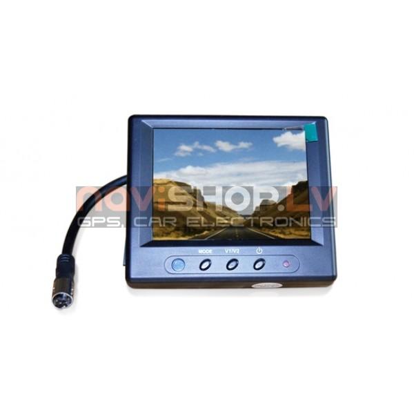 """3.5"""" monitors ar videoieeju, atpakaļskata sistēmai RM-355"""