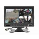 """7.0"""" digitālais QUAD  monitors RM-701S4, 4 kanāli, audio"""