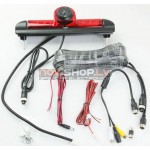 Fiat Ducato atpakaļskata kamera ar bremžu signālu  RC-6016 (Sharp CCD Camera, mirror, 4PIN)