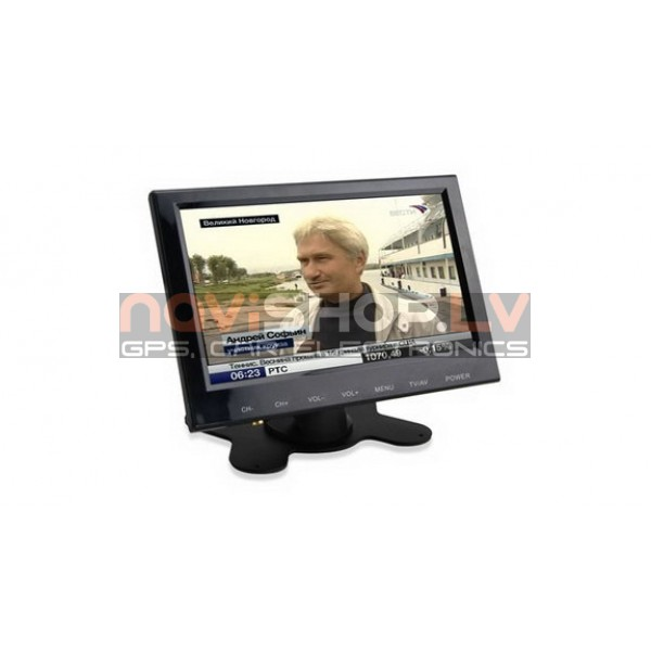 "Auto TV  DTV-U702 7.0"" MPEG4 digitalais televizors"