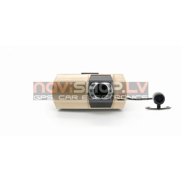 EasyRide A210  DVR reģistrators ar papildus kameru