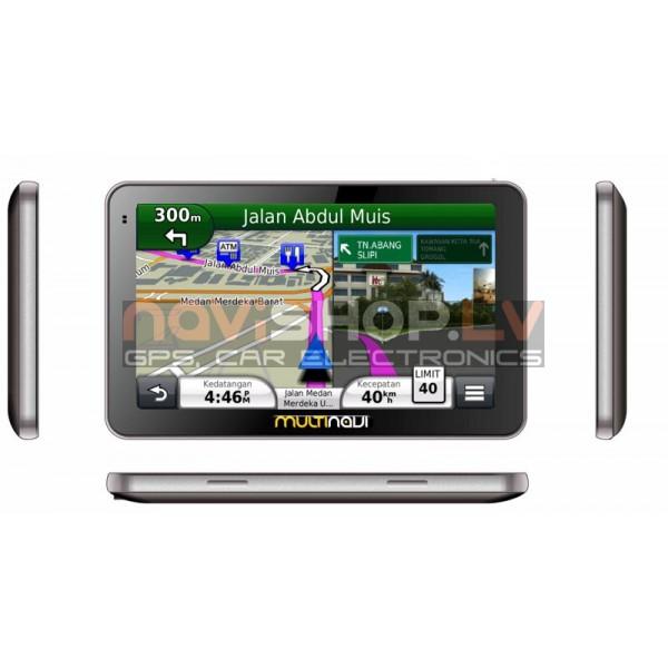 Multinavi 7008 MSTAR 8Gb , Navikey map( 866 Mhz, 256 Mb RAM) GPS navigācija