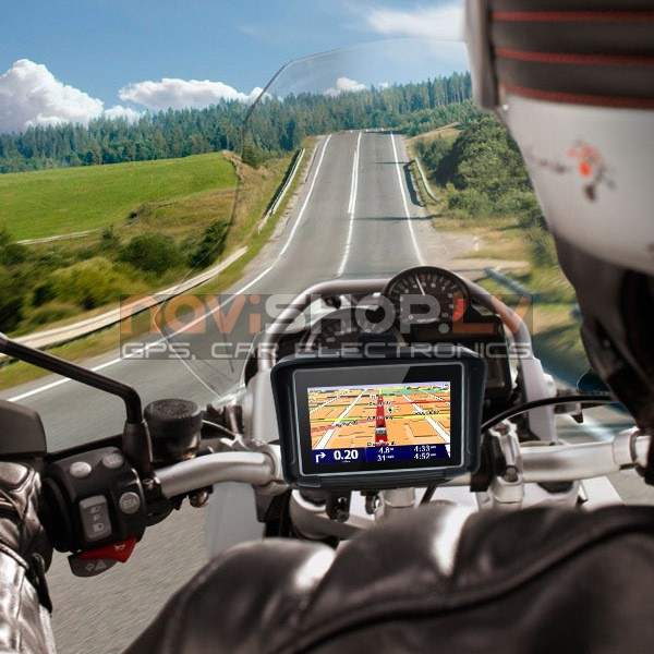 "Multinavi Moto V3 GPS 4.3"" 8 Gb (MT4302), Navikey map"