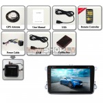 "Auto dators Volkwagen Multinavi J-9813-8Y (GPS, DVR, RADIO, AUX, RDS, Bluetooth,AVIN, 8Gb, Cortex A9, Android 4.2.2, 8.0"") + Canbus"