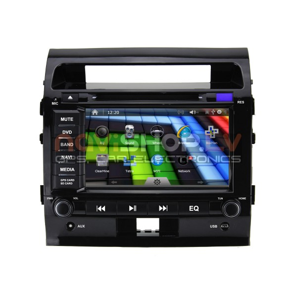 "Toyota Landcruiser GPS, DVD Combo Multinavi M-8623MX 8.0"" , Bluetooth"