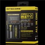 Nitecore Digicharger D2 digitālais universāls lādētājs  (Li-ion. Ni-Mh, Ni-Cd, 2 kanāli)