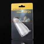 Nitecore NDF34 gaismas izkliedētājs, uzlika, balts ( diffuser wand)
