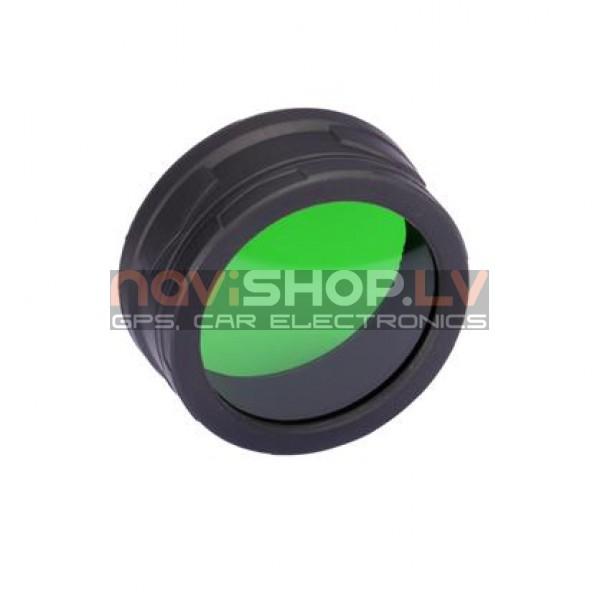 Nitecore NFG60 (60mm) zaļais filtrs LED lukturiem, medniekiem