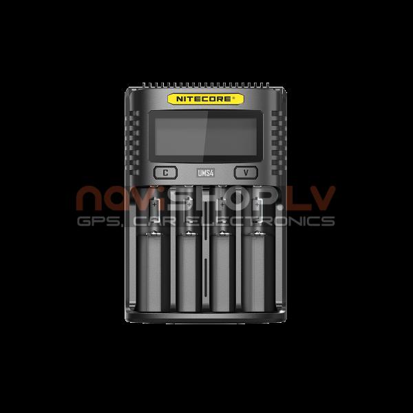 UMS4 Inteliģents USB Superb lādētājs