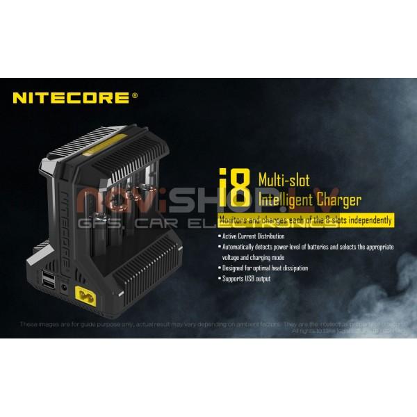 Nitecore i8 Intellicharger lādētājs