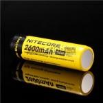 Nitecore NL186 18650 Li-ion lādējams akumulators (2600mAh) 3.7V, ar aizsardzības čipu