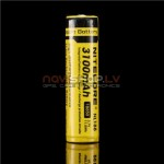 Nitecore NL188 18650 Li-ion lādējams akumulators 3100mAh 3.7V, ar aizsardzības čipu