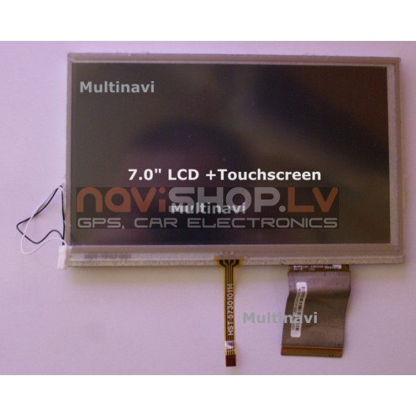 """7.0"""" GPS LCD TFT rezerves ekrāns+Touch"""