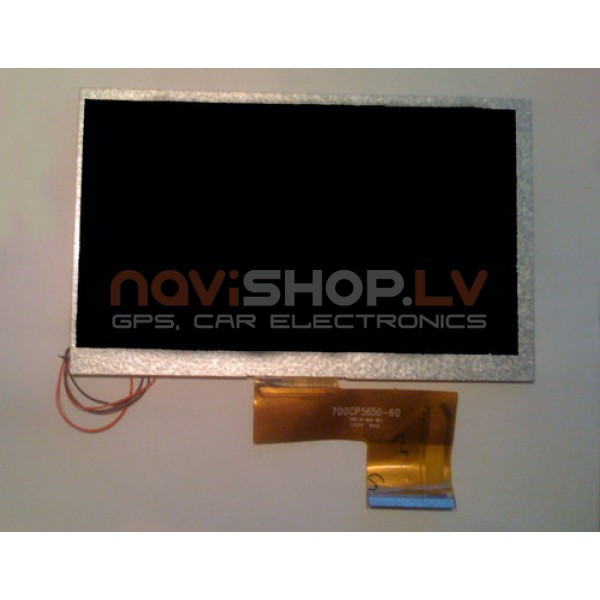 7.0 collu TFT LCD 800x480  displejs EasyPad  un citiem (bez touchscreen)