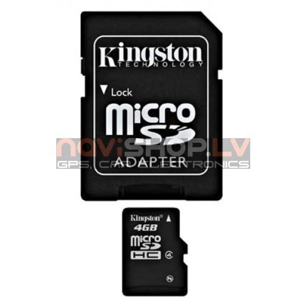 Kingston micro SDHC 4Gb atmiņas karte