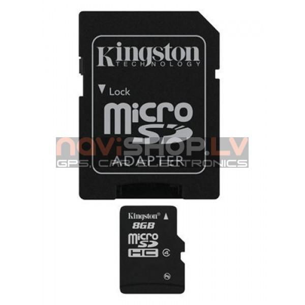 Kingston micro SDHC 8Gb atmiņas karte