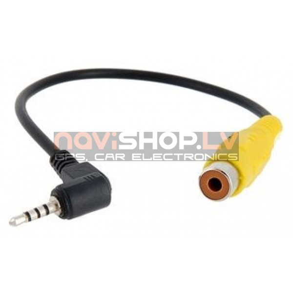AVIN 2.5 mm uz 1x RCA female pāreja 15 cm
