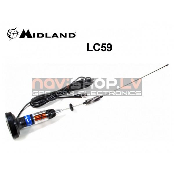 Midland LC59 CB antena magnetiska (C1019) 71cm