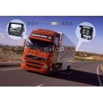 """Kravas un autobusu atpakaļskata sistēma RI-7012 (7.0"""" LCD,3 kanālu video ieeja)"""