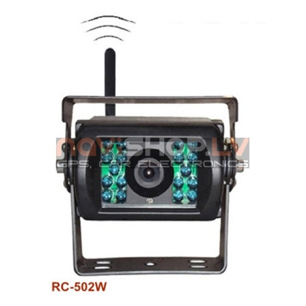 RC-502W Profesionālā bezvadu Sharp CCD kamera