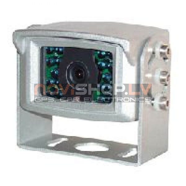 RC-501 Sharp CCD kamera ar spuguļattēla slēdzi, sudraba