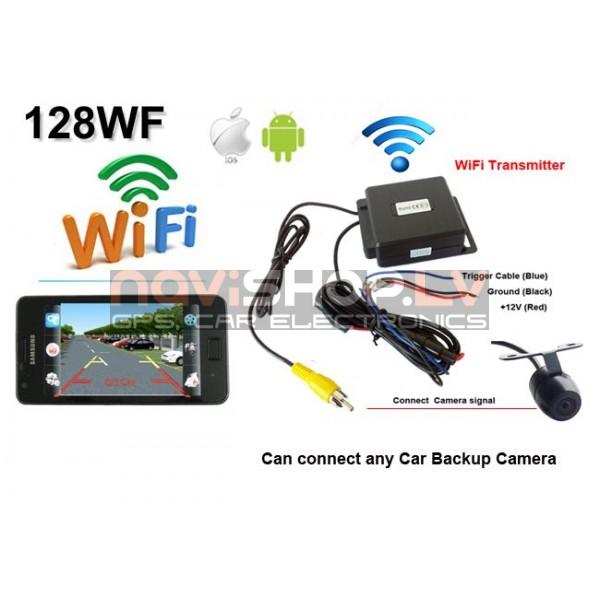 Atpakaļskata kameras WIFI raidītājs RI-128WF