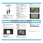 WIFI raidītājs atpakaļskata kamerām RIS-802W