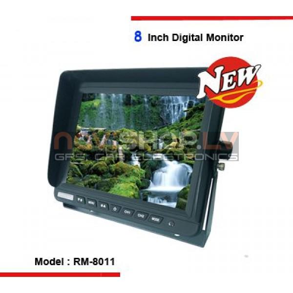 "Atpakaļskata sitēmas Monitors RM-8011, 8.0"" 4 pin"