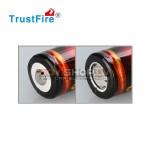 Trustfire 18650 lādējams akumulators ar PCB, 2400 mah, 3.7V