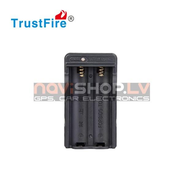 Trustfire 18650x2 lādētājs (2x18650)