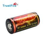 Trustfire 32650 lādējams akumulators ar PCB, 5000 mah, 3.7V