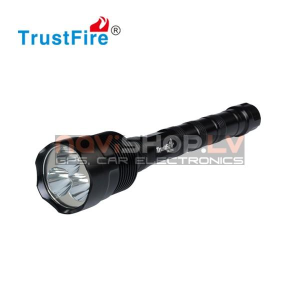 Trustfire TR-3T6 LED lukturis (3* CREE XM-L T6,3800 lumens)