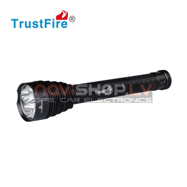 Trustfire J-12 LED lukturis (5* CREE XM-L T6,4500 lumens)