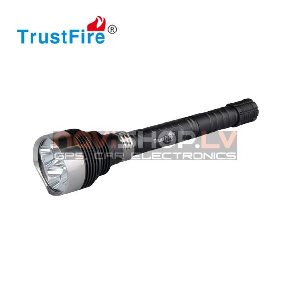 Trustfire J-16 LED lukturis (5* CREE XM-L T6,4500 lumens)