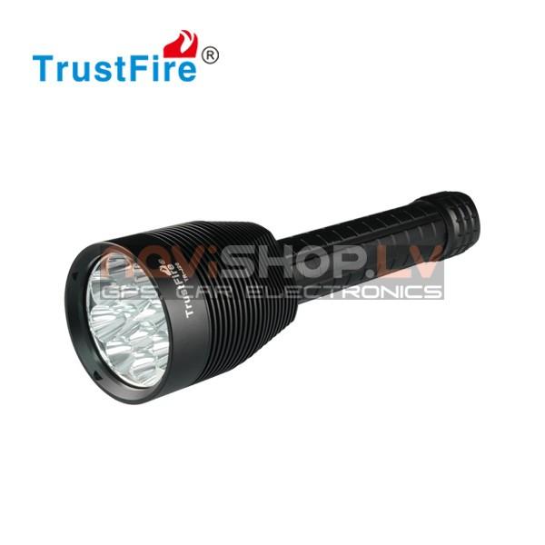 Trustfire TR-J20 LED lukturis (12* CREE XM-L T6, 13000 lumens)