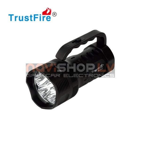 Trustfire TR-S700 LED lukturis alumīnija kastē (7* CREE XM-L T6,2700 lumens)