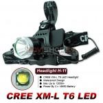 Ultrafire H11 LED galvas lukturis komplekts (CREE XM-L T6 LED, max 1200 lumens)