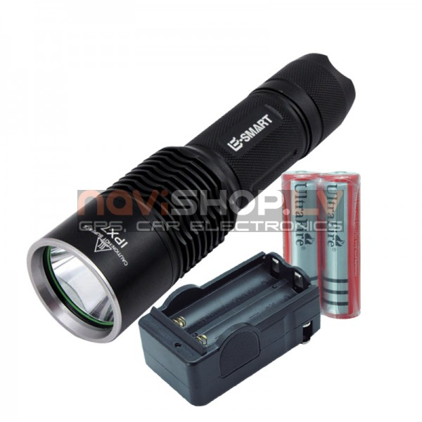 Ultrafire JCH001 LED lukturis ( max 1200 lumens)
