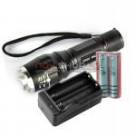 Ultrafire W083 LED lukturis ar regulējamu  fokusu(zoom) (1000 lumens)