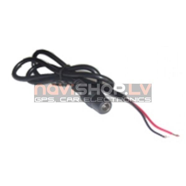 barošanas kabelis DC female power cable 0.6 m
