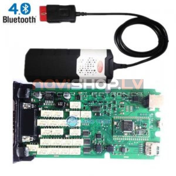 Single PCB board Delphi DS150E New VCI Bluetooth CDP+