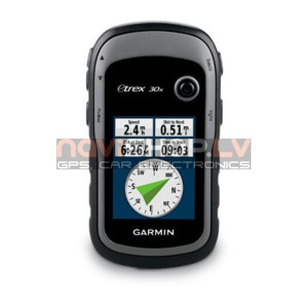 Garmin etrex 30x (010-01508-12 ) +Austrumeiropas TopoActive karte