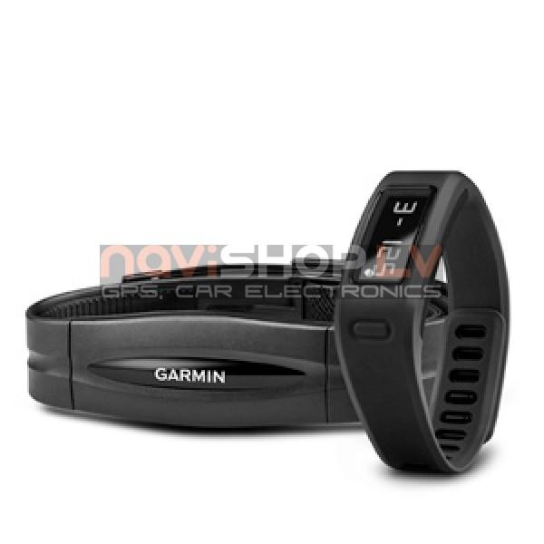 Garmin Vivofit Black HRM bundle (010-01225-30) - ar sirdsdarbības monitoru