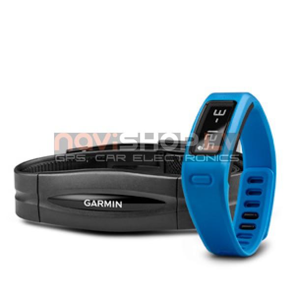 Garmin Vivofit Blue HRM bundle (010-01225-34) - ar sirdsdarbības monitoru, zils