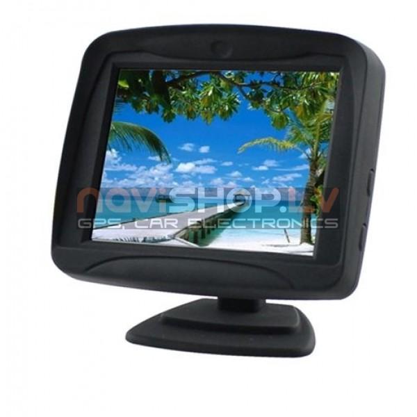 """3.5"""" digitālais panelis TFT LCD atpakaļskata monitors  M350B"""