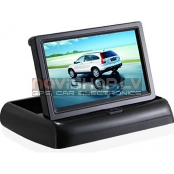 "4.3"" atlokāms LCD atpakaļskata monitors M430B"
