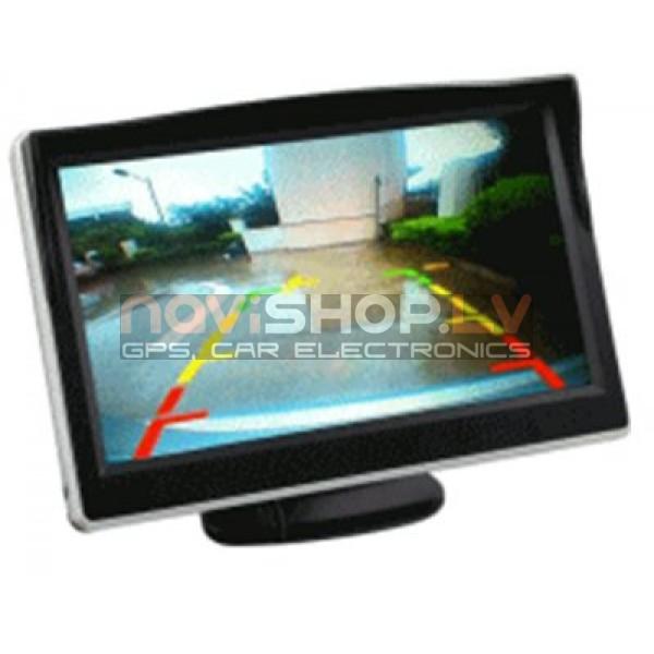 "5"" digitālais  LCD monitors , OSD button control , ar saulessargu M501"