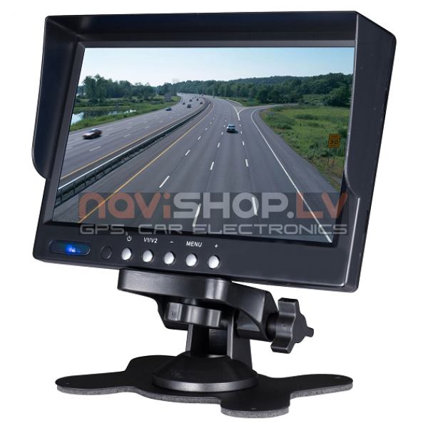 "7"" TFT LCD monitors ar saulessargu M715"